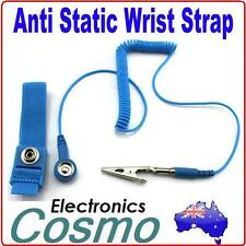 Anti Static Antistatic ESD Adjustable Wrist Strap Band Grounding Wristband