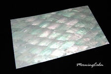 2 Sheets of Donkey Ear Veneer (MOP Shell Inlay Overlay Nacre Luthier Papercraft)