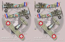 "[FFSMC Productions] Decals 1/48 SPAD XIII SPA 48 ""Chante et Combat"""