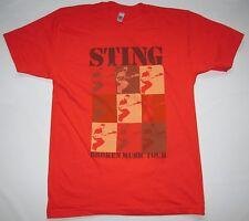 *WOW* SELTEN Official STING Merchandise BROKEN MUSIC TOUR 2005 Star T-Shirt g.M
