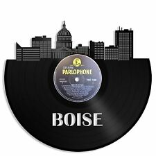 Boise Vinyl Wall Art Impression Conversation Record Redone Home Bedroom Decor