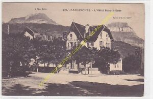 CPA 74700 SALLANCHES Hôtel Beau Séjour Edit MORAND 1923