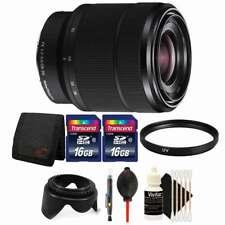 Sony SEL2870 FE 28-70mm F3.5-5.6 OSS Full Frame E-Mount Lens with 32GB Kit