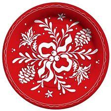 Teller mit Weihnachtlichem Muster