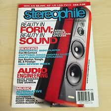 Stereophile Issue Vol.28 No.1, January 2005 Hi-End MUSIC Sonus Faber Speakers