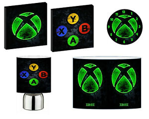 NEON XBOX - choose from LIGHTSHADE,TOUCH LAMP, CLOCK, WALL ART OR BUNDLE