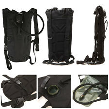 3.0L Military Molle Outdoor Backpack Water Bag Packs W/ Hydration Bladder CP US