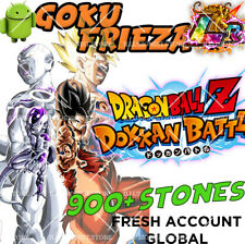Dokkan Battle - Goku & Frieza LR with 900+ Dragon Stones - Fresh Global