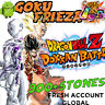 Dokkan Battle - Goku & Frieza LR with 900+ Dragon Stones - Fresh Global