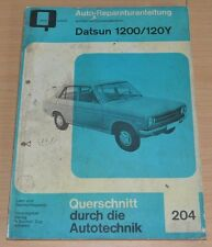 Datsun 1200 120 Y Handbuch Bucheli Auto Motor Technik Reparaturanleitung B204