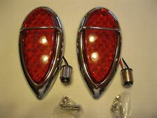 1938-1939 Ford Baby Teardrop  LED's Tail Lights ,Red Stop/Tail & Turn