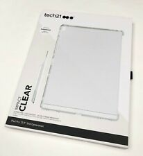 "Tech21 Thin Impact Protection Clear Case Cover for iPad Pro 12.9"" 2nd Gen Clear"