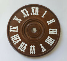 NEW German Cuckoo Clock Silk-Screened Wood Dial - Choose a Size!