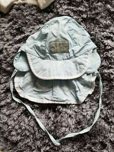 Sterntaler Baby Blue Hat Sun Screen Back