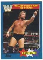 2017 Topps Heritage WWE Wrestling Blue /99 #85 Million Dollar Man Ted DiBiase