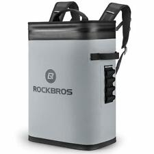 ROCKBROS Leak-Proof Soft Sided Cooler Backpack Waterproof Insulated Gray Bag