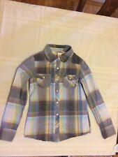 Mossimo Supply Co. Girls Plaid Shirt, size 7/8