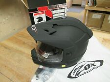 ZOX ADVENTURE / MOTORCYCLE / MOTOCROSS HELMET - ADULT XS WITH FLIP-UP SHIELD