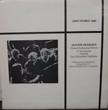 Olivier Messiaen Three Orchestral Works Marius Constant MHS3685   012117LLE