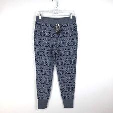 Kavu Rowan Jogger Pants Women's Size Small Blue & Gray Knit NEW 142/886
