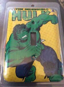 Switch Plate Incredible Hulk Switchplate Marvel Metal Kids Light Switch