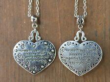 Nurse's Prayer Pendant Necklace ~ Double Sided ~ RN LPN LVN CNA ~ Choice of Bail