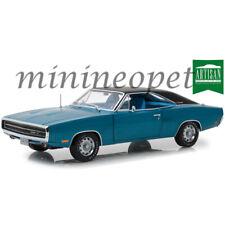 GREENLIGHT 13530 1970 DODGE CHARGER 500 SE 1/18 DIECAST MODEL CAR BLUE