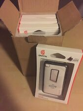 GRIFFIN Reveal Black & Clear Slim Case for iPod Touch 4th Gen with Stand 40 NIB