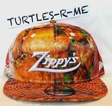 RARE Zippy's 50th x FITTED HAWAII New Era SNAPBACK Satin Hat CHILI Mac Salad