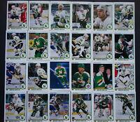 1990-91 Upper Deck UD Minnesota North Stars Team Set 24 Hockey Cards