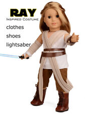 Doll Clothes Rey Inspired Doll Costume for 18 inch American Girl Doll