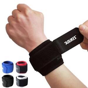 Gym Adjustable Wrist Brace Support Wrist Sport Strap Wrap Belt Men Women 1 Pcs