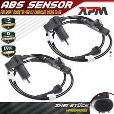 2x ABS Sensor Raddrehzahl Vorne Links Rechts für Smart Roadster 452 0.7L 03-05