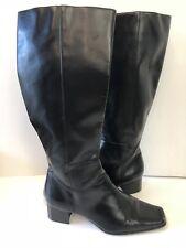 Chadwicks Black Knee High Riding Boots Size 8.5