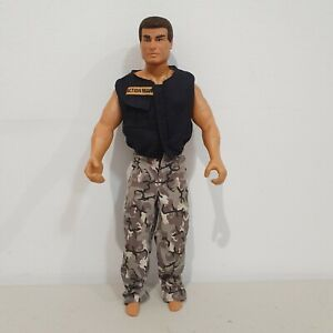 1992 Action Man Hasbro Pawtucket Action Figure Good Condition Vest Camo Pants