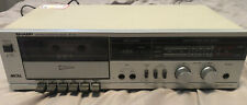 Sharp Rt-100 Stereo Single Cassette Tape Deck/Recorder