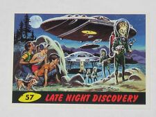 Topps Mars Attacks Trading Card 1994 Base Card Nm #57 Late Night Discovery