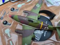 Messerschmitt Me 262 A-1A Heinrich 1945 WWII Fighter Aircraf Scala 1:72 Die Cast