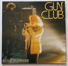 THE GUN CLUB - LOVE SUPREME LP - 1985 - RARE