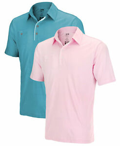 Adidas Mens Clima Cool Piped Pocket Polo Polos Shirts Tops I Many Colors