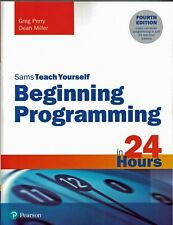 Beginning Programming in 24 Hours Sams Teach Yourself Computer Book New