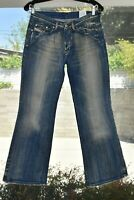 Diesel 'Daze' Womens Jeans Size 29 Distressed Bootcut Flare Made in Italy