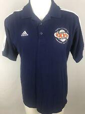 NEW Adidas NFL 2001 Tampa Bay Florida Super Bowl XXXV Dark Blue Polo Mens M