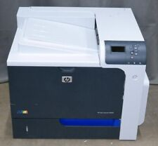 HP LASERJET CP4525 COLOR LASER PRINTER CC495A LESS THAN 47K PAGES PRINTED+ TONER