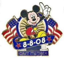MICKEY MOUSE 8-8-08 OLYMPIC OPENING CEREMONY CAST MEMBERS LE 1250 Disney Pin