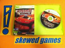 Crash Time Autobahn Pursuit - XBox 360 Microsoft COMPLETE