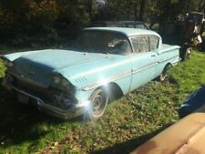 1958 Chevrolet Impala Biscayne with Stainless Trim