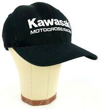 Kawasaki Motocross Racing Fox Flex Fit Black Fitted Hat Medium
