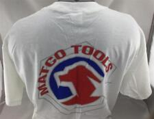 Matco Tools T-Shirt XL White *NEW* (64)