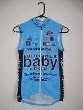 """Bike Cycle Full Zip Sleeveless Jersey - Womens S (32"""" chest) Bicyclebaby.com"""